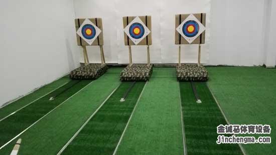 室內移動靶射箭館-射箭場館設計加盟